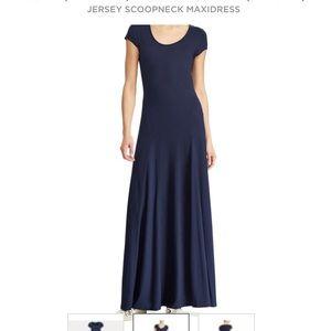 Ralph Lauren Polo Jersey Maxi Dress size XL- EUC